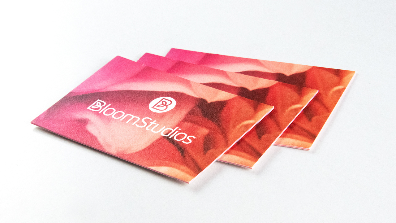 BloomStudios Business Card Two