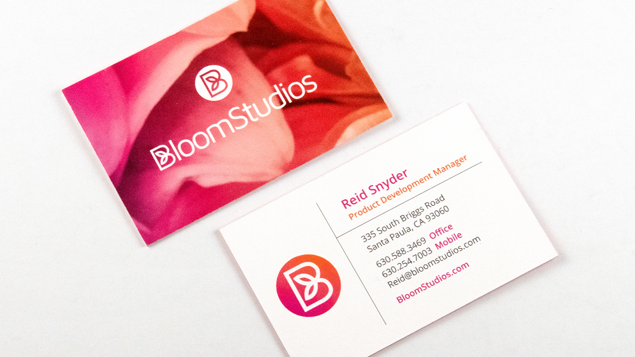 BloomStudios Business Card